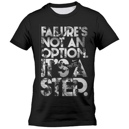 Failure is not an option it's a step  Фото 01